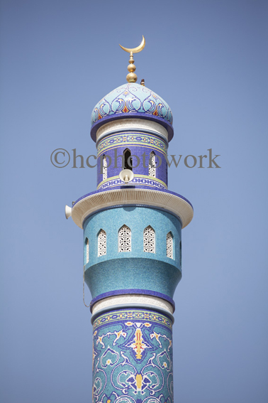 _MG_1208 Minaret, Mosque, Old Muscat, Oman ©hcphotowork