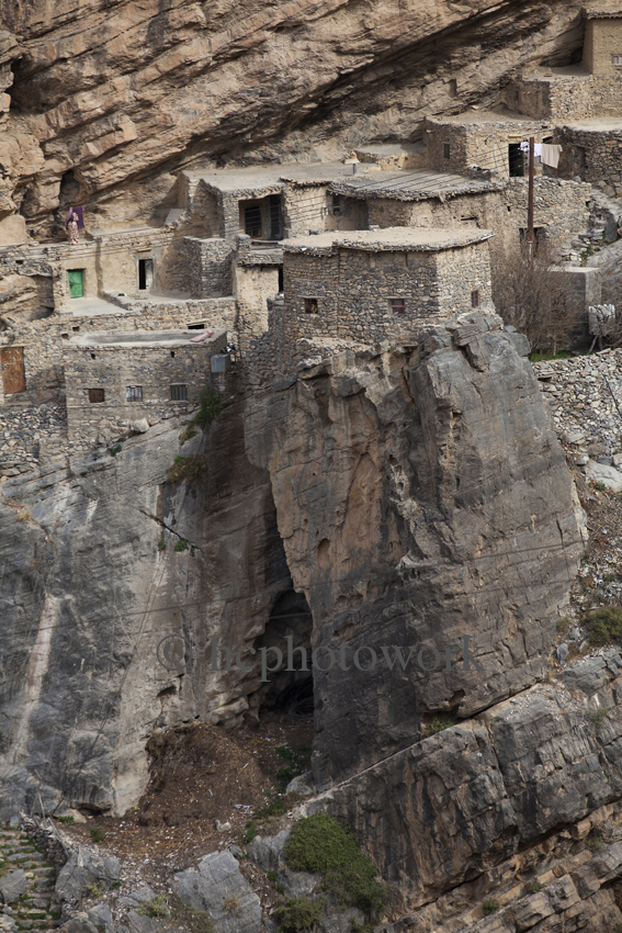 Saqrah village, Outward Bound Oman