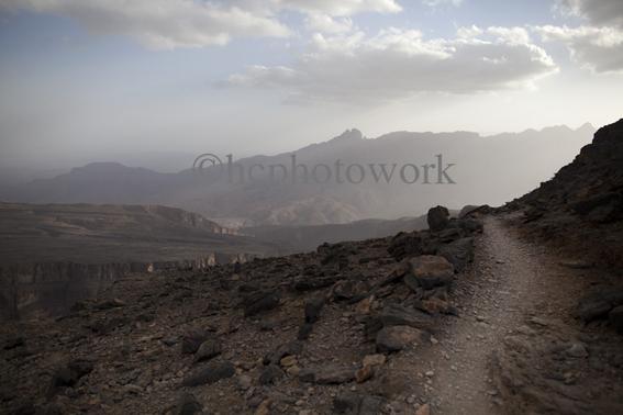 Wadi Ghul, Outward Bound Oman. © 2012 Helen Couchman